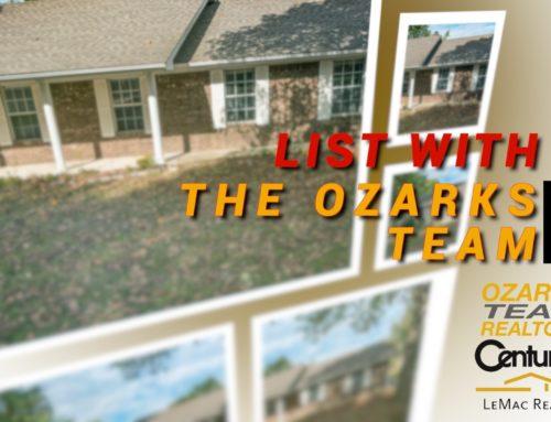List With The Ozarks Team